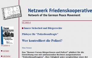 NetzwerkFriedenskooperative
